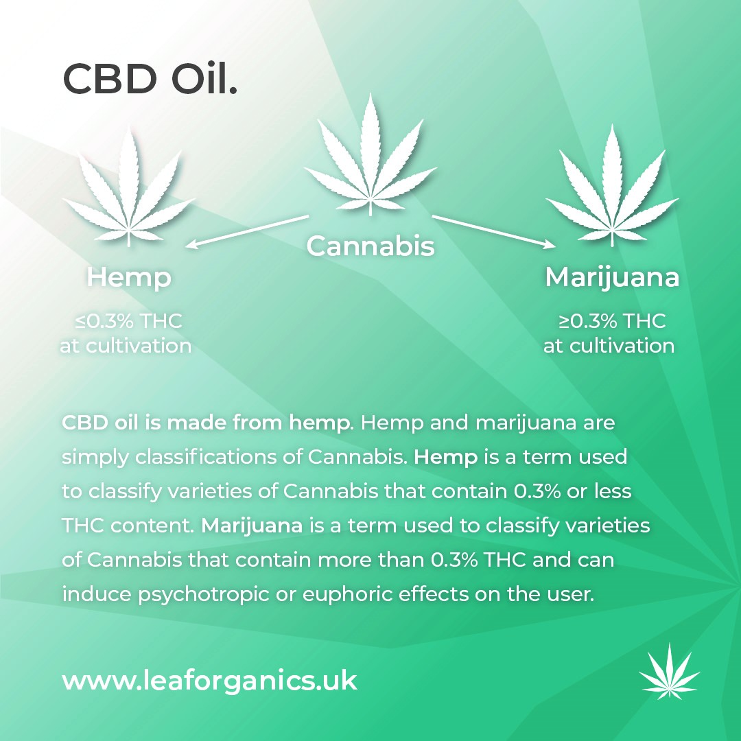 What is CBD made from